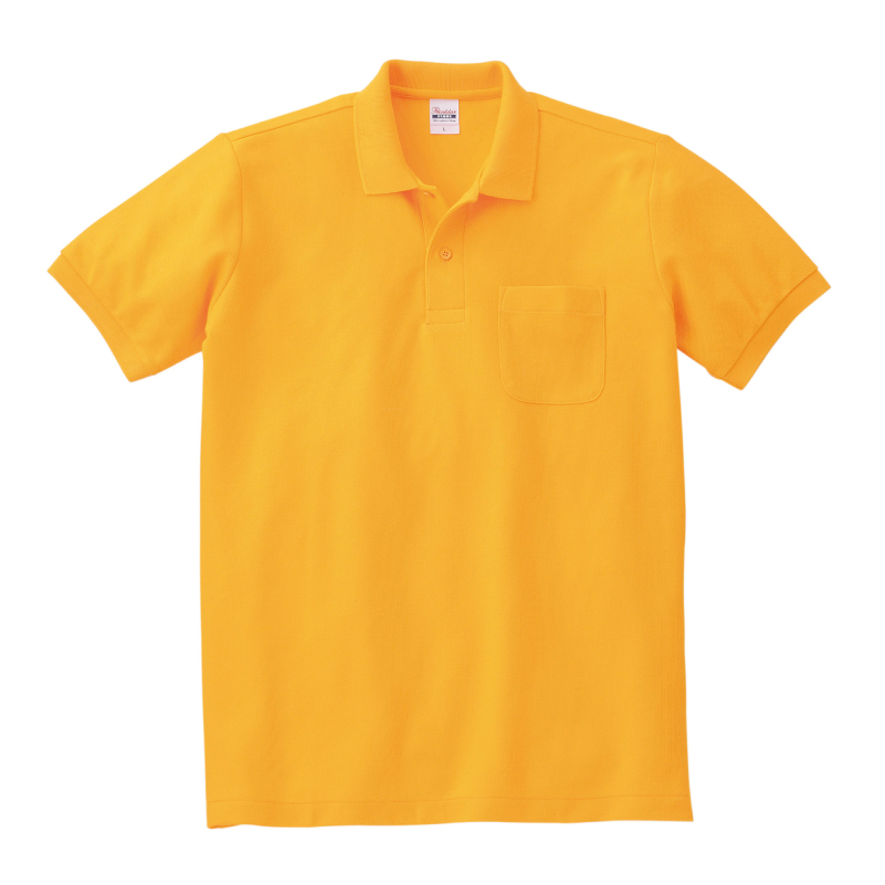 5.8ozT/Cポケットポロシャツ