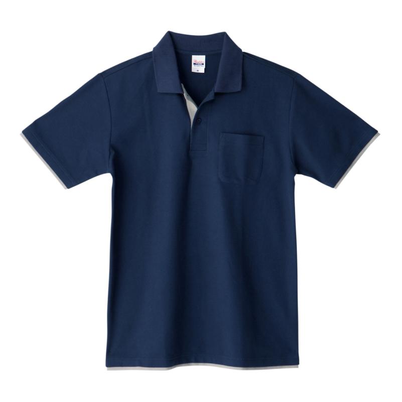 5.8ozベーシックレイヤードポロシャツ