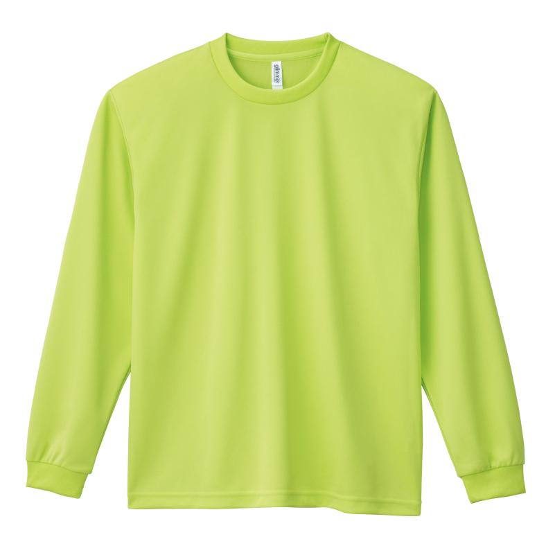 4.4ozドライロングスリーブTシャツ