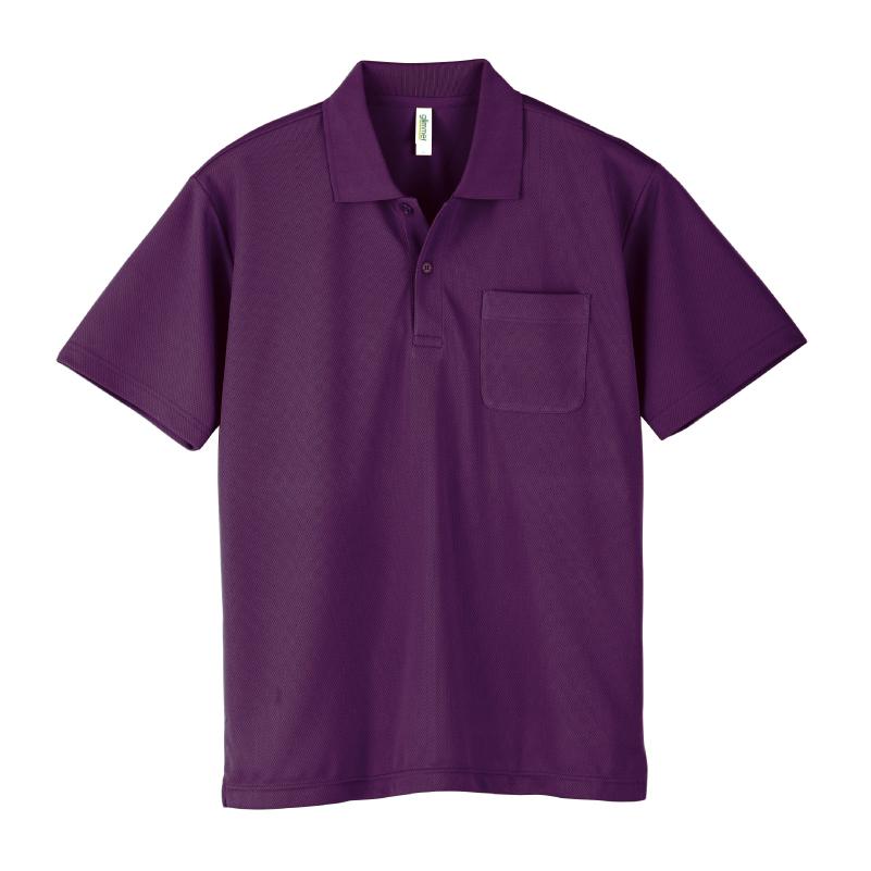 4.4ozドライポケットポロシャツ