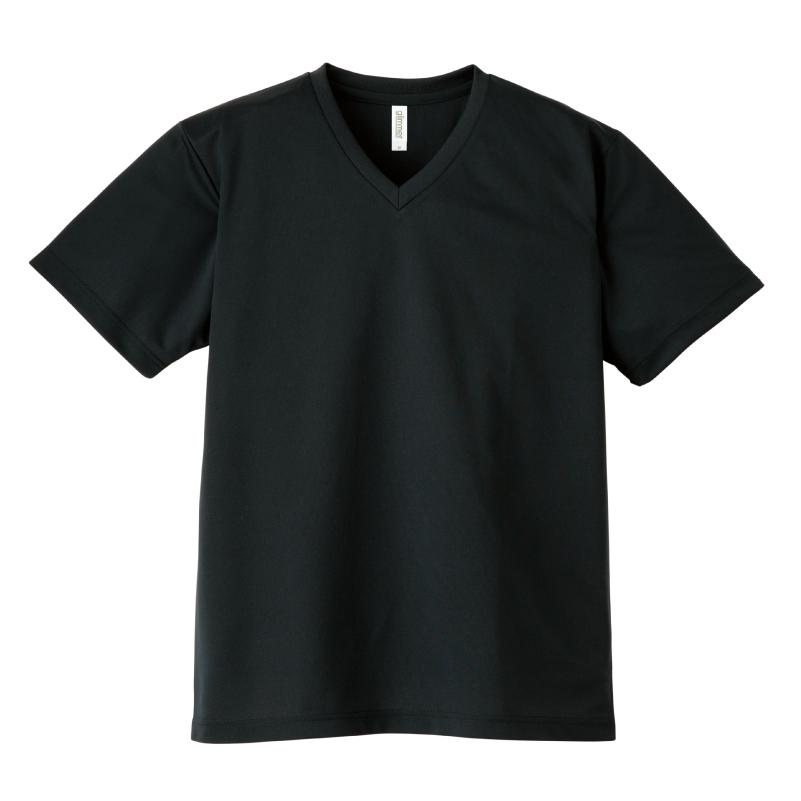 4.4ozドライVネックTシャツ