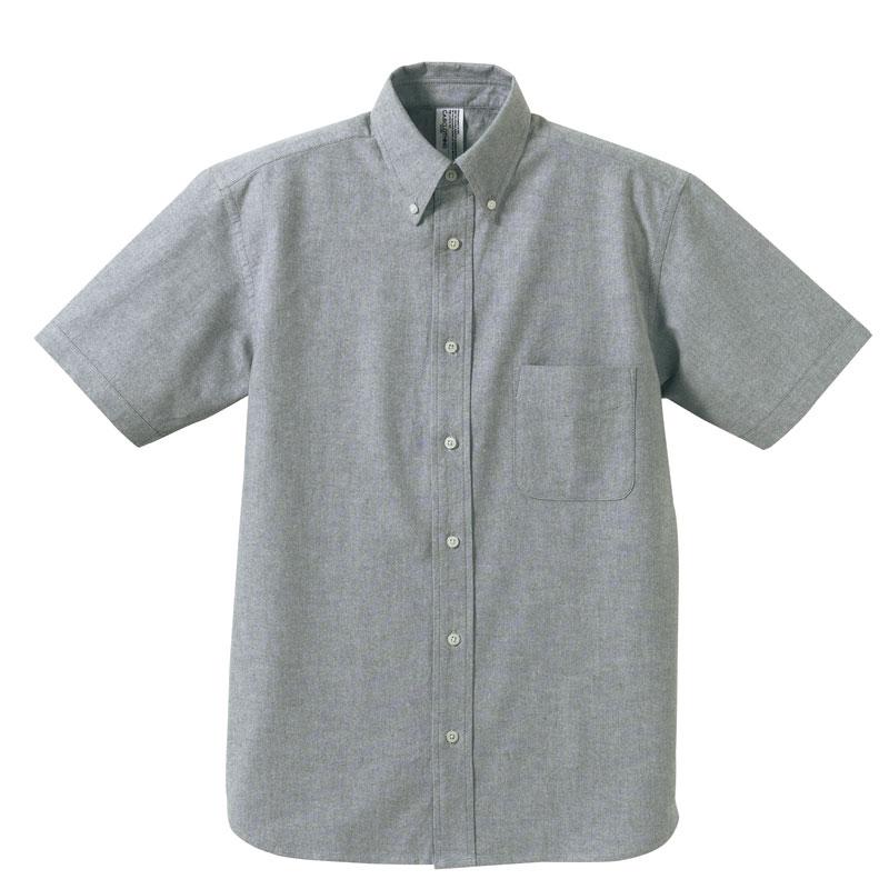 オックスフォードBDショートスリーブシャツ