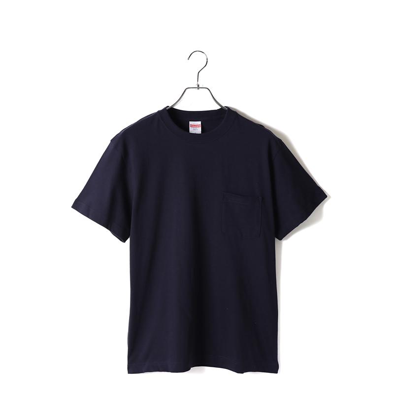 5.6ozハイクオリティポケットTシャツ