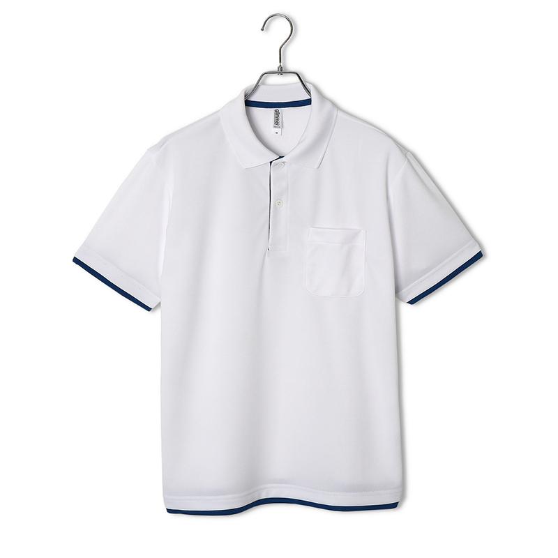4.4ozドライレイヤードポロシャツ