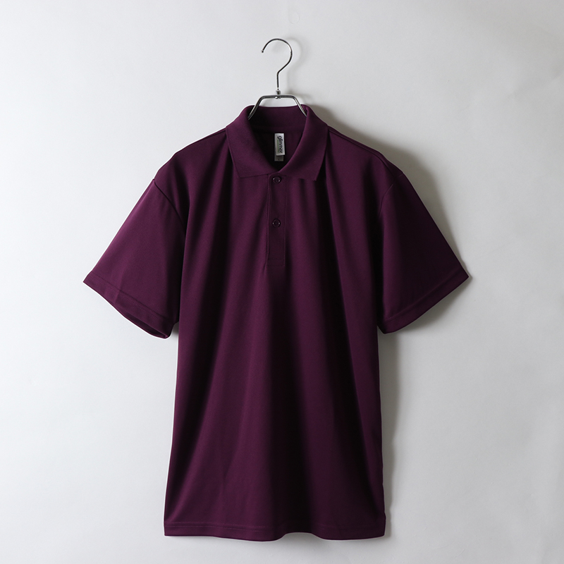 4.4ozドライポロシャツ
