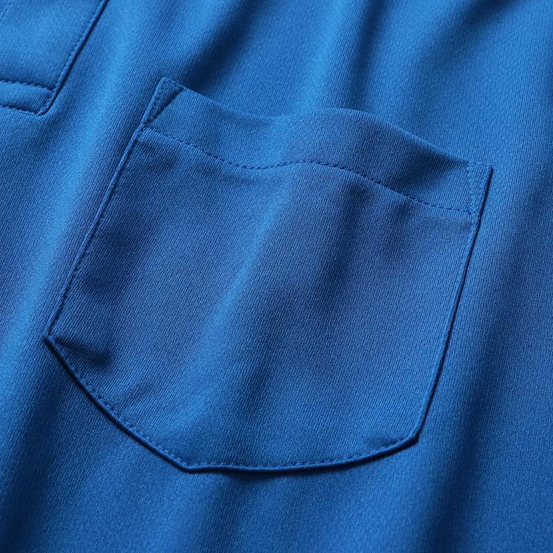 4.4ozドライBDポケットポロシャツ