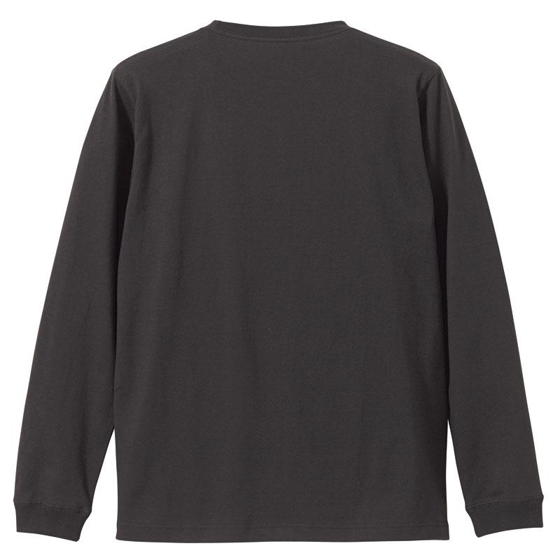 5.6ozロングスリーブ1.6インチリブTシャツ