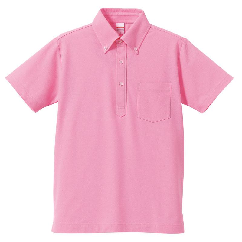 5.3ozドライカノコユーティリティBDポケットポロシャツ