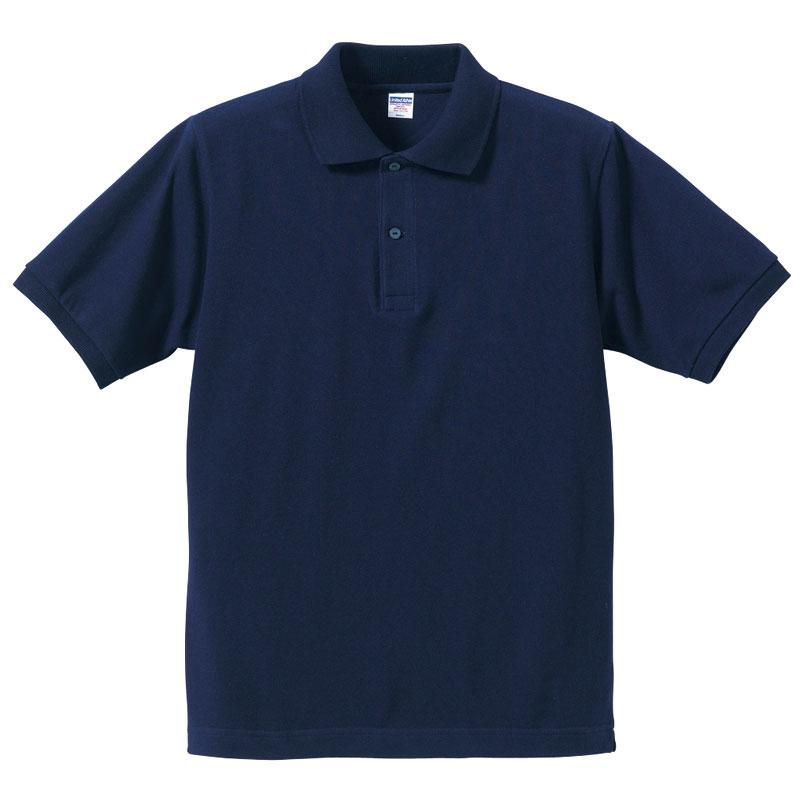 7.6ozヘビーウェイトコットンポロシャツ