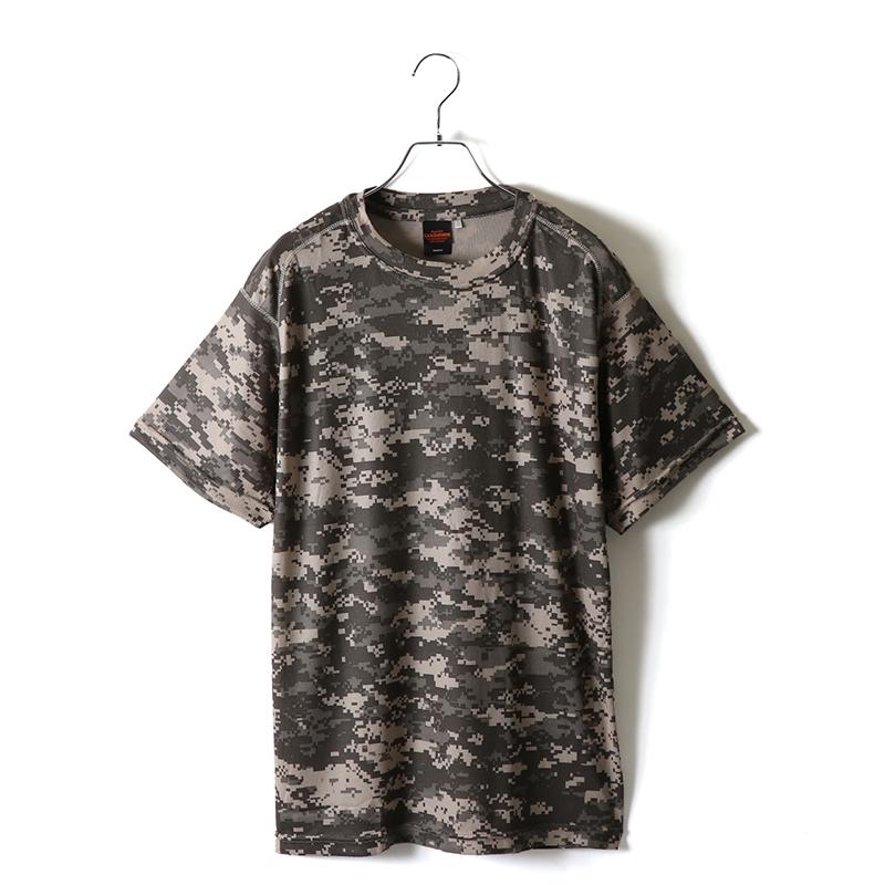 ドライクールナイスカモフラージュTシャツ