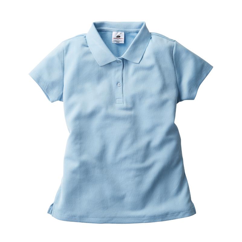 4.3ozレディースダブルフェイスポロシャツ