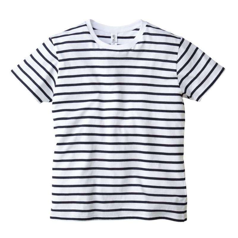 4.3ozナローボーダーTシャツ