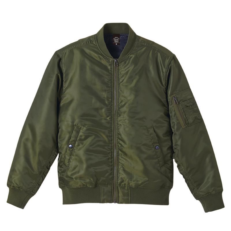 中綿入りタイプMA-1ジャケット