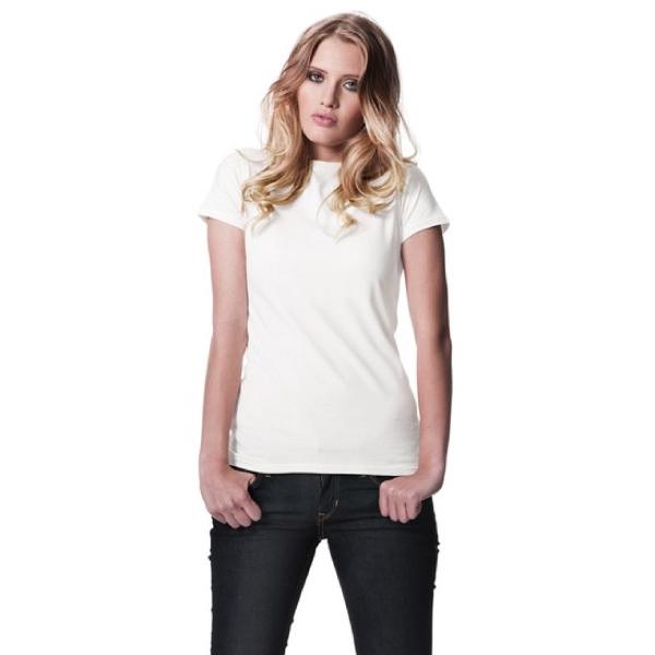 オーガニックレディーススリムフィットTシャツ