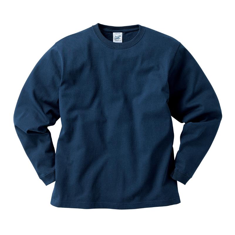 6.2ozマックスウェイトロングスリーブTシャツ(リブ付)