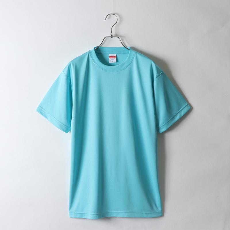 4.7ozドライシルキータッチTシャツ