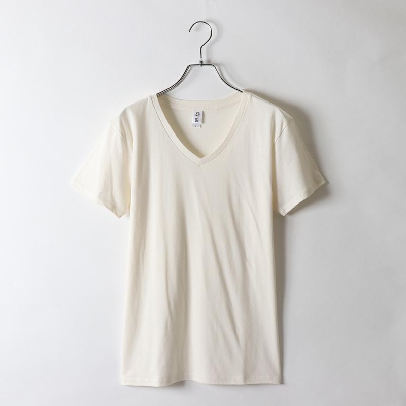 4.3ozスリムフィットVネックTシャツ