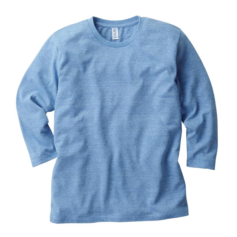 4.4ozトライブレンド3/4スリーブTシャツ