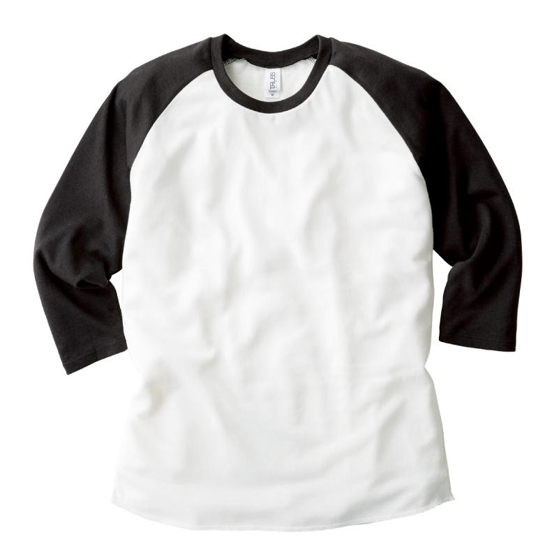 4.4ozトライブレンドラグラン7分袖Tシャツ