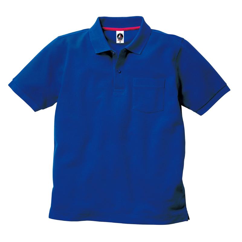 5.8ozベーシックスタイルポケットポロシャツ