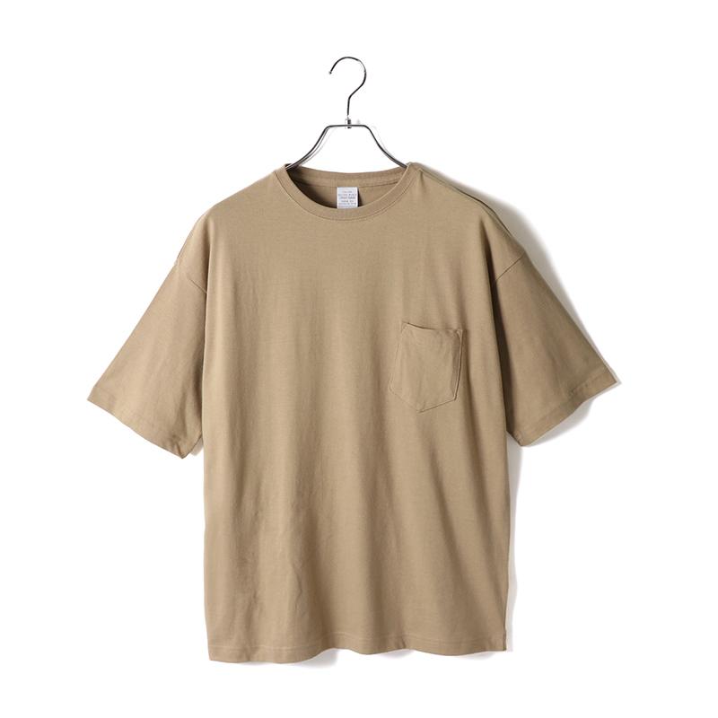 商品画像5.6ozビッグシルエットポケットTシャツ