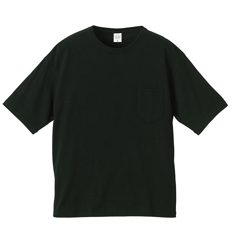 5.6ozビッグシルエットポケットTシャツ