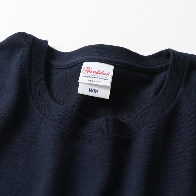 5.6ozレディースヘビーウェイトTシャツ