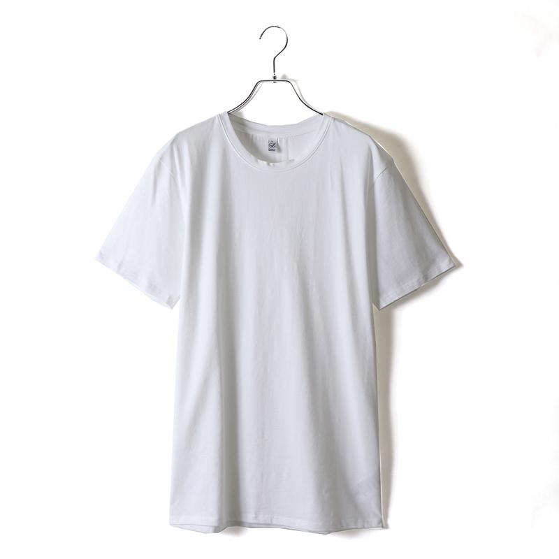 商品画像5.0ozオーガニックコットンストレッチTシャツ