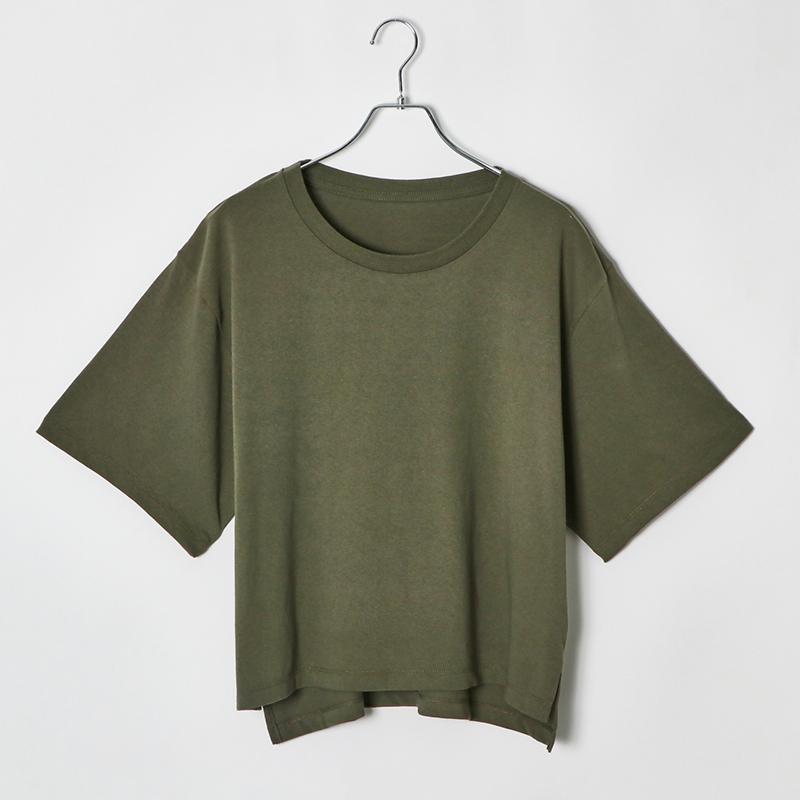 6.2ozレディースオーバーサイズTシャツ